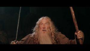Gandalf dans le Seigneur des Anneaux