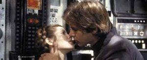 Solo et Leia dans Star Wars